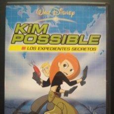 Cine: DVD KIM POSSIBLE LOS EXPEDIENTES SECRETOS (WALT DISNEY) PEPETO. Lote 271548553