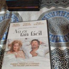 Cine: G-81 DVD NO ES TAN FACIL PRECINTADO CARATULA ESTADO REGULAR CON HUMEDAD. Lote 271606713