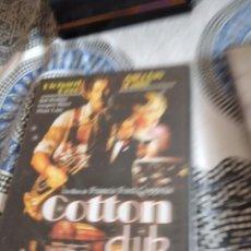 Cine: G-81 DVD COTTON CLUB PRECINTADO CARATULA ESTADO REGULAR CON HUMEDAD. Lote 271607038