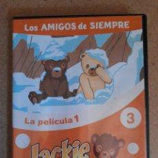 Cine: JACKIE Y NUCA, EL BOSQUE DE TALLAC - LA PELICULA 1 VOL. 3 LOS AMIGOS DE SIEMPRE. Lote 271620988