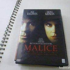 Cinema: MALICE -DVD - N 2. Lote 272262503