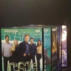 Cine: 6 X DVD S CSI MIAMI PRIMERA TEMPORADA,CAPITULOS DEL 1 AL 24 PERFECTO ESTADO PEPETO. Lote 272779288