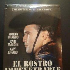 Cine: EL ROSTRO IMPENETRABLE DVD MARLON BRANDO KARL MALDEN NUEVO PRECINTADO PEPETO. Lote 272786698