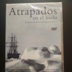 Cine: ATRAPADOS EN EL HIELO DVD LA LEGENDARIA EXPEDICION A LA ANTARTIDA .. PEPETO. Lote 272791023