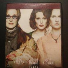 Cine: LAS HORAS. DVD DE LA PELICULA DE MERYL STREEP, JULIANNE MOORE Y NICOLE KIDMAN. PEPETO. Lote 272791603