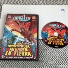 Cine: GODZILLA LOS MOSNTRUOS INVADEN LA TIERRA. DVD. Lote 273653063