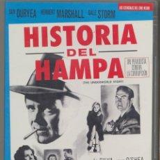 Cine: HISTORIA DEL HAMPA DVD- UN FILM ESENCIAL Y DE MAS ÉXITO SOBRE LA MAFIA. UN CLASICO NO SUPERADO HOY. Lote 274350788