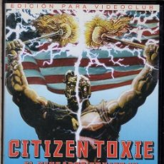 Cine: CITIZEN TOXIE DVD - UNA EXPLOSION CAUSA EFECTOS TOXICOS IRREPARAQBLES. Lote 274562378