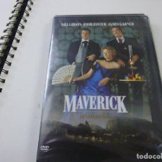 Cinema: DVD -- MAVERICK -- MEL GIBSON Y JODIE FOSTER --N 2. Lote 275260588