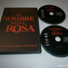 Cinema: EL NOMBRE DE LA ROSA EDICION COLECCIONISTA 2 DISCOS DVD SEAN CONNERY. Lote 275485993