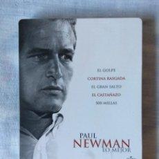 Cine: ENVIO INCLUIDO // DVD PAUL NEWMAN LO MEJOR. 5 PELICULAS EN DVD STEELBOOK. Lote 276212898