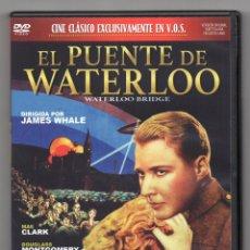 Cine: EL PUENTE DE WATERLOO. DVD, JAMES WHALE. Lote 276413768