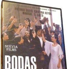 Cine: BODAS DE SANGRE DVD CARLOS SAURA ANTONIO GADES. Lote 276503913