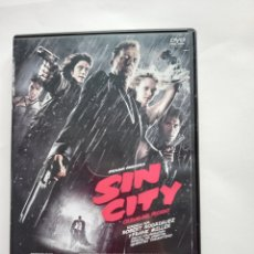 Cine: SIN CITY - DVD - ROBERT RODRIGUEZ Y FRANK MILLER - QUENTIN TARANTINO. Lote 276638278