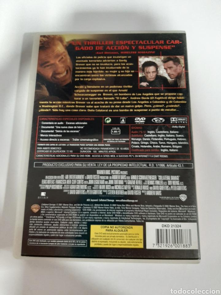 Cine: D1856 daño colateral - DVD COMO NUEVO - Foto 2 - 276800463