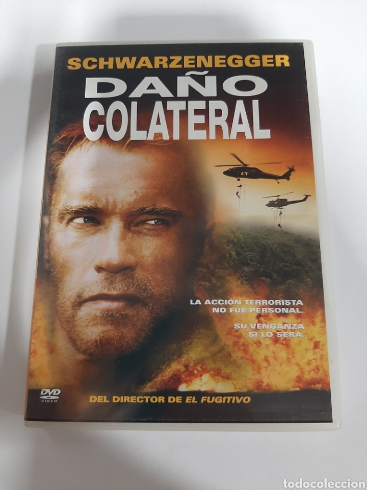 D1856 DAÑO COLATERAL - DVD COMO NUEVO (Cine - Películas - DVD)