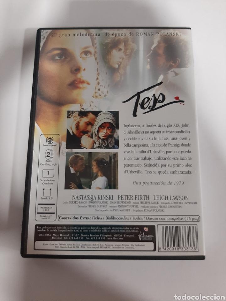 Cine: D1857 tess - DVD COMO NUEVO - Foto 2 - 276800558