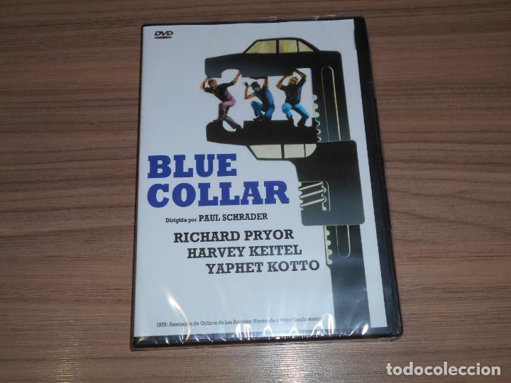 BLUE COLLAR DVD HARVEY KEITEL RICHARD PRYOR NUEVA PRECINTADA (Cine - Películas - DVD)