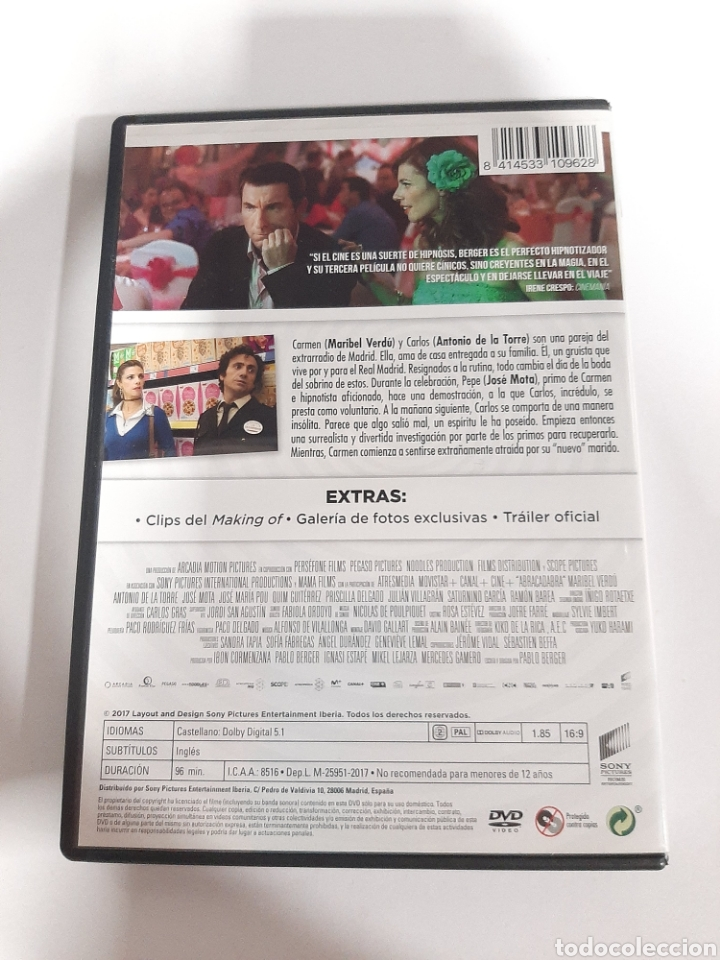 Cine: D1858 abracadabra - DVD COMO NUEVO - Foto 2 - 276800663