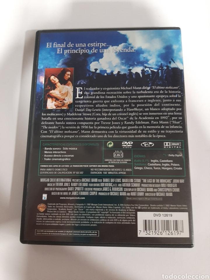 Cine: D1859 El último mohicano - DVD COMO NUEVO - Foto 2 - 276800768