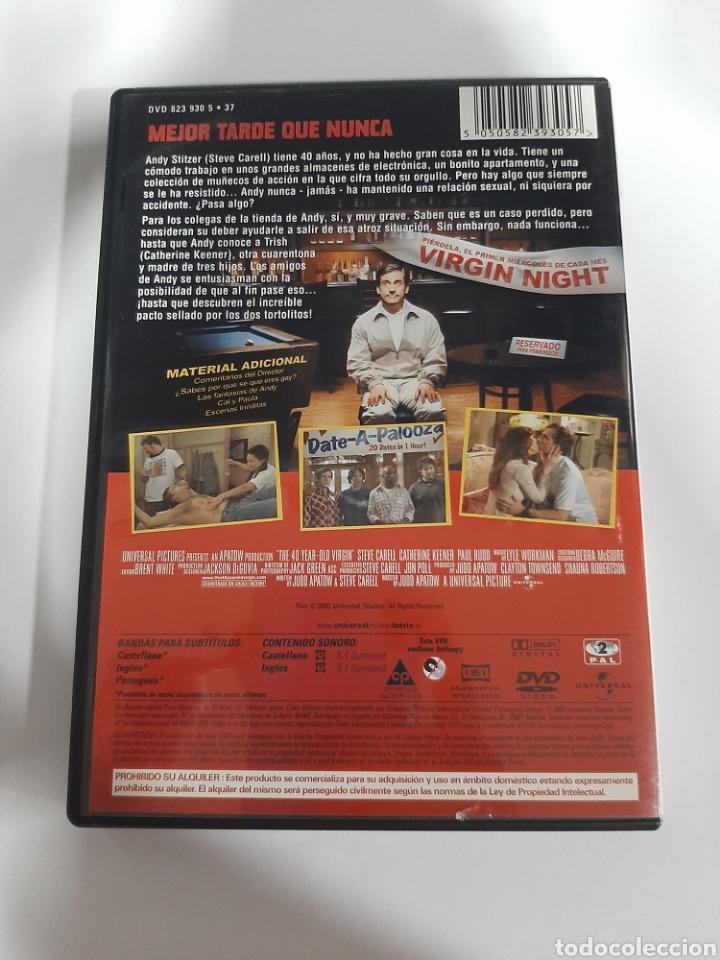 Cine: D1860 Virgen a los 40 - DVD COMO NUEVO - Foto 2 - 276800923