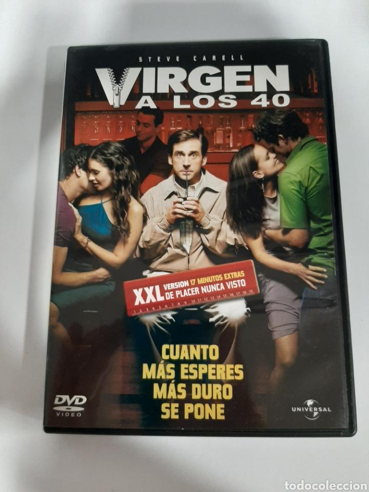 D1860 VIRGEN A LOS 40 - DVD COMO NUEVO (Cine - Películas - DVD)