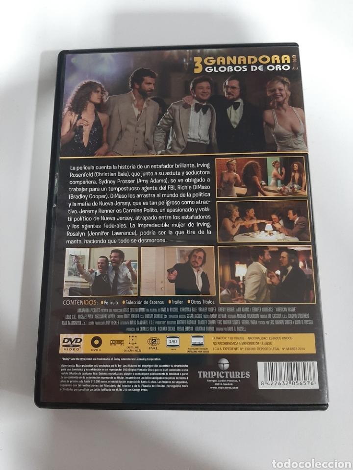 Cine: D1861 la gran estafa americana - DVD COMO NUEVO - Foto 2 - 276801028
