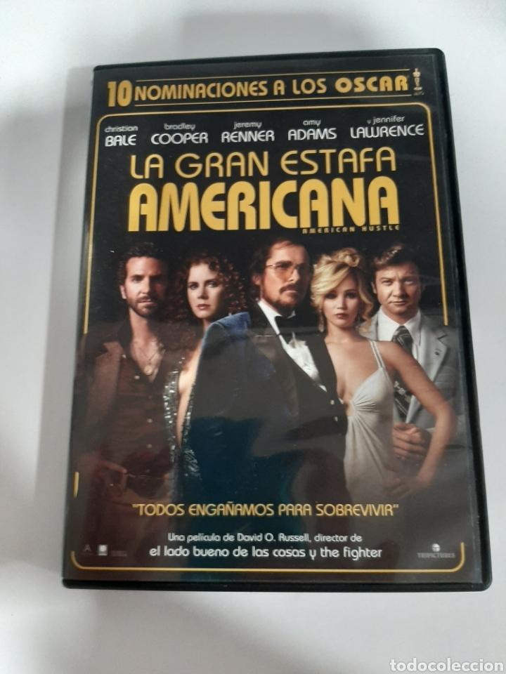 D1861 LA GRAN ESTAFA AMERICANA - DVD COMO NUEVO (Cine - Películas - DVD)