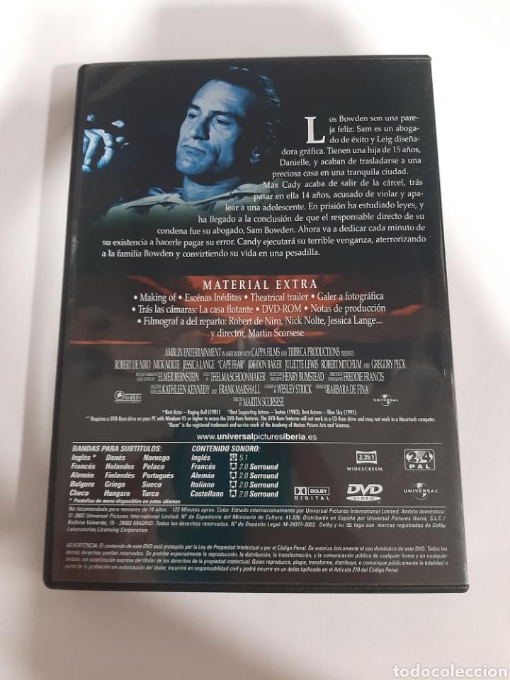 Cine: D1863 El cabo del miedo - DVD COMO NUEVO - Foto 2 - 276801258