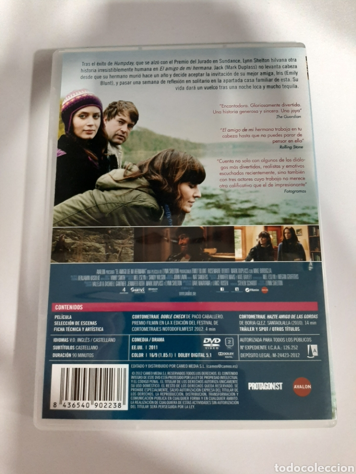 Cine: D1864 el amigo de mi hermana - DVD COMO NUEVO - Foto 2 - 276801373