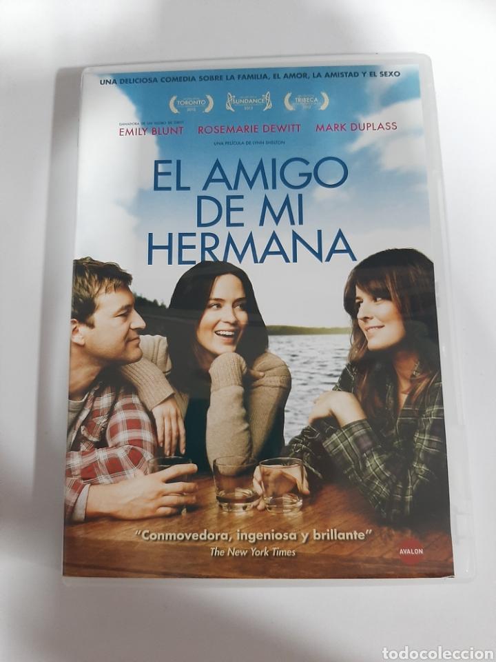 D1864 EL AMIGO DE MI HERMANA - DVD COMO NUEVO (Cine - Películas - DVD)