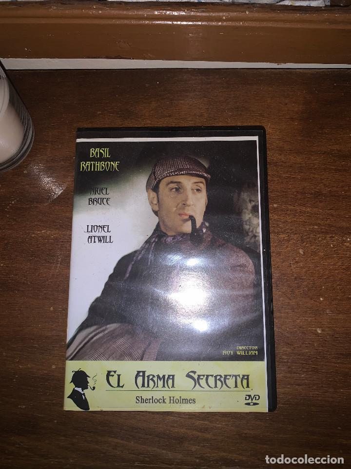 'ARMA DE SECRETA' DE SHERLOCK HOLMES (Cine - Películas - DVD)