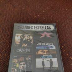 Cine: COLECCIÓN GRANDES ESTRELLAS SLIM PRECINTADA. Lote 277141663