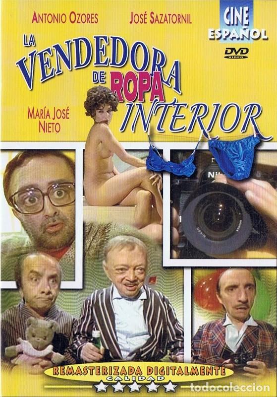 LA VENDEDORA DE ROPA INTERIOR ANTONIO OZORES (Cine - Películas - DVD)