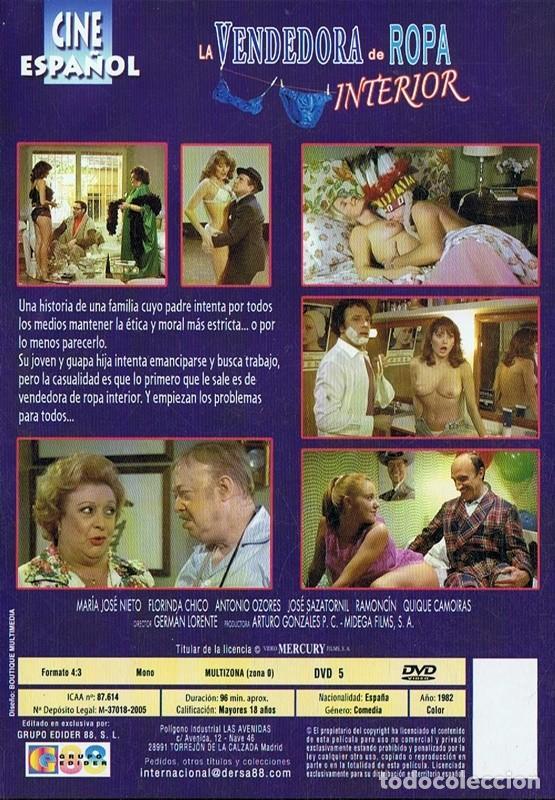 Cine: LA VENDEDORA DE ROPA INTERIOR ANTONIO OZORES - Foto 2 - 277143723