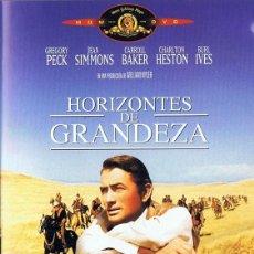 Cine: HORIZONTES DE GRANDEZA GREGORY PECK. Lote 277144873