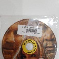 Cine: PELICULA EN DVD. SOLO DISCO. UNA VIDA POR DELANTE. MORGAN FREEMAN. ROBERT REDFORD. JENNIFER LOPEZ. Lote 277257738