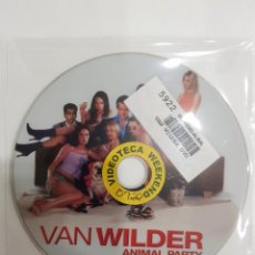Cine: PELICULA EN DVD. SOLO DISCO. VAN WILDER. ANIMAL PARTY. RYAN REYNOLDS. TARA REID. TIM MATHESON. Lote 277257923