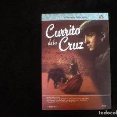 Cine: CURRITO DE LA CRUZ - LA ANTORCHA DE LOS EXITOS - DVD LIBRO - DVD COMO NUEVO. Lote 277258103