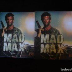 Cine: MAD MAX TRILOGY - DVD LIBRO DE LUJO - CON 36 PAGINAS A TODO COLOR - DVD COMO NUEVOS. Lote 277258553