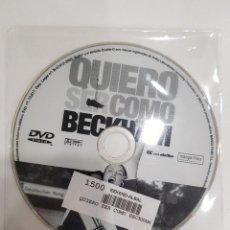 Cine: PELICULA EN DVD. SOLO DISCO.QUIERO SER COMO BECKHAM. PARMINDER NAGRA. KEIRA KNIGHTLEY. JONATHAN RHYS. Lote 277258558