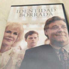 Cine: DVD IDENTIDAD BORRADA. Lote 277262083
