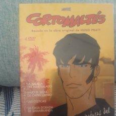 Cine: CORTOMALTES DVD. Lote 277263768