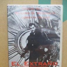 Cine: EL EXTRAÑO - ORSON WELLES - EDWARD G ROBINSON - LORETTA YOUNG - DVD. Lote 277569408