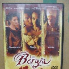Cine: LOS BORGIA - LLUIS HOMAR - PAZ VEGA - ANGELA MOLINA - DVD. Lote 277572313