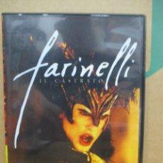 Cine: FARINELLI IL CASTRATO - STEFANO DIONISI - DVD. Lote 277574578