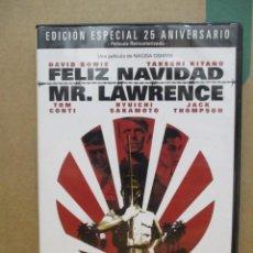 Cine: FELIZ NAVIDAD MR LAWRENCE - DAVID BOWIE - EDICION ESPECIAL 25 ANIVERSARIO - 2 DISCOS - DVD. Lote 277582173