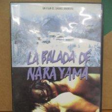 Cine: LA BALADA DE NARAYAMA - SHOHEI IMAMURA - PALAMA DE ORO - DVD. Lote 277582643