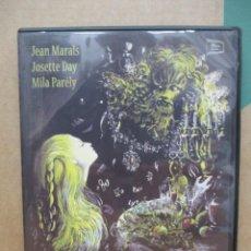 Cine: LA BELLA Y LA BESTIA - JEAN MARAIS - JEAN COCTEAU - DVD. Lote 277614503