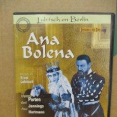 Cine: ANA BOLENA - LUBITSCH - EDICION ESPECIAL COLECCIONISTAS - DVD. Lote 277615048